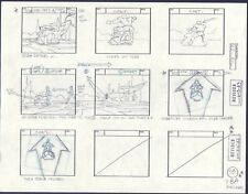 He-Man MOTU original production storyboard ETERNAL DARKNESS Episode 42 1983 p9b