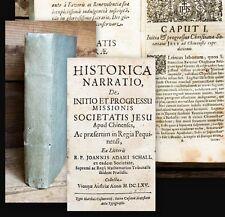 1665 Chine jésuites-Mission Pékin acoustique de Bell Histórica Narratio