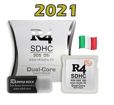 R4 iSDHC SDHC SILVER PRO 2021-For 3DSLL/N3DS/NDSi XL/i/NDS/N2DS with USB Adapter