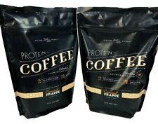 Complete Nutrition Gluten Free Caramel Frappe Protein Coffee Medium Roast 2 Pack