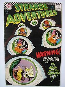 Strange Adventures #196 (Jan 1967, DC) [VG+ 4.5]