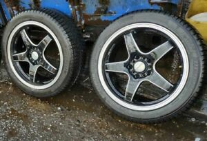 "2006 Toyota Celica Alloys Multistud Five Stud 17"" Alloy Wheels & Tyres 225/45/17"
