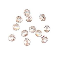 SCR320f CANTALOUPE Genuine Swarovski 4mm Faceted Round Ball (5000) Bead 12/pkg