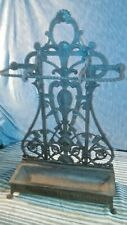 VINTAGE COALBROOKDALE CO CAST IRON STICK STAND DR C.DRESSER AESTHETIC MOVEMENT