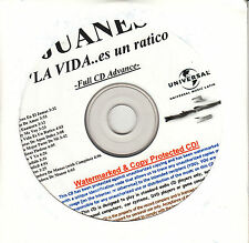 JUANES La Vida... Es Un Ratico US watermarked & numbered promo test CD SEALED
