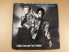 """Letitia Dean & Paul Medford : Something Outa Nothing : 7"""" Single from 1986"""