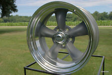 "15X7 "" AMERICAN RACING TORQ THRUST D 215  CHEVY GM 5 ON 4.75 BP,VN215 lugs cap"
