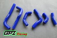 FOR HONDA CRF450R CRF 450 R 2002 2003 2004 silicone radiator coolant hose BLUE