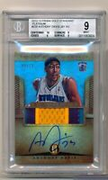 Anthony Davis 2012 Gold Standard PLATINUM /10 Autograph BGS 9 Rookie Card RC RPA