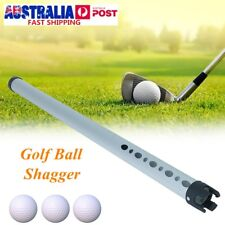Portable Aluminum Shag Tube Practice Golf Ball Shagger Picker Hold Up 23 Balls