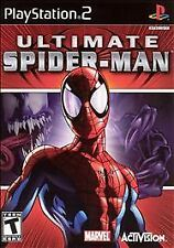 Ultimate Spider-Man Sony PlayStation 2 PS2 COMPLETE W/ MANUAL Disc SPOTLESS