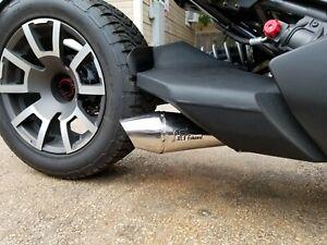 2019-2021 Can Am Ryker  RLS Exhaust Rage Series Performance exhaust