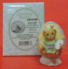 Dated 2006 Cherished Teddies Easter Egg Lmt Ed Figurine 0000368-Abbey Press