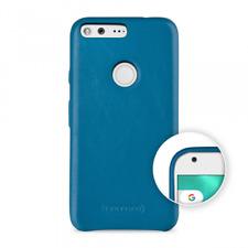 TETDED Premium Leather Case for Google Pixel XL - {S}Caen (Prestige: Sky Blue)