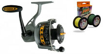 Fin-Nor Lethal 40 LT-40 Spin Fishing Reel Spooled with 30lb Fins Braid New