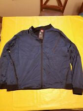 NIKE men s Tech Pack dark Blue Hypermesh Varsity Jacket size 3XL. 50e1a467d