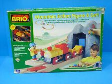 Brio #33031 Mountain Action Figure 8 Set + Expansion Set, Wooden Railway, 2001