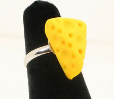 Cheese Wedge RING - Football Cheesehead Wisconsin Green Bay Packers