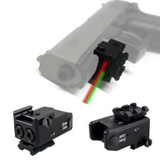 Tactical Green Red Dual Beam Aiming Laser Sight USB Rechargeable Laser Sight