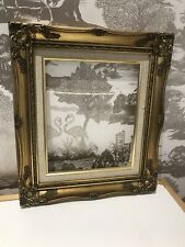 Quality Antique Striking Rococo Baroque Vintage Ornate Gold Gilt Picture Frame