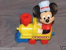 Mickey Mouse Windup Train Engine