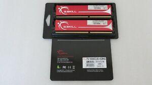 G.Skill 4GB RAM (2x2GB) PC3-10666 DDR3-1333 Desktop Memory F3-10666CL9D-4GBNQ