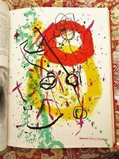 1961 XXe SIÉCLE 2 Issues Nos 16 & 17 ORIGINAL LITHOGRAPHS by MIRÓ, APPEL, CÉSAR