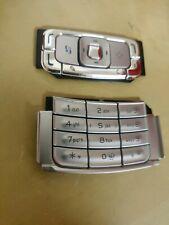 100% Genuine New Original Nokia N95 Keypad + Top Button Fascia Housing - Silver