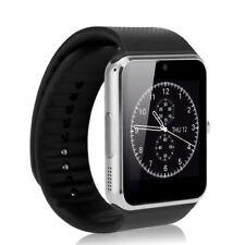 GT08 SmartWatch Armband Uhr für Android Bluetooth Wireless SIM Kamera Silber DE