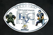 Lebanon Valley Flying Dutchmen--2008 Football Magnet Schedule