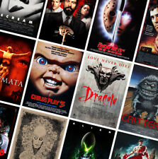 BEST CLASSIC HORROR MOVIE POSTERS PRINTS - A4 A3 A2 - Alien, Dracula, Gremlins