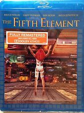 The Fifth Element (Blu-ray Disc, 2015, HD UltraViolet Included ) NEW/SEALED