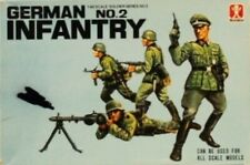 Bandai 1:48 German Infantry No.2 Plastic Figure Kit #8243U