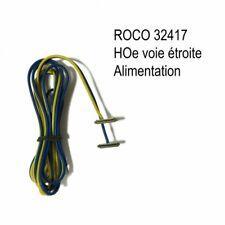 Cable d'alimentation par éclisse-HOe-1/87-ROCO 32417