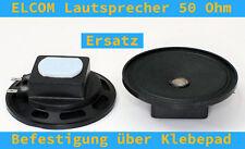 ELCOM Türsprechanlagen Lautsprecher für Wandhörer 50Ohm 65mm statt 70mm NEU