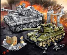World of Tanks Bricks - WWII German Army Tank Tiger & Panther Toy Birthday Gift