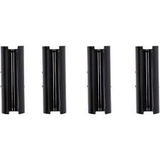 S&S Gloss Black Pushrod Cover Keeper Set for Harley M8 Models