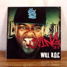 Will R.O.C. Living The EP CD 2012 Ephysians Hip Hop G-Funk Rap playgraded