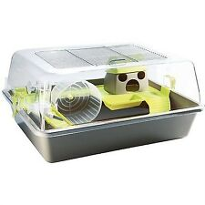 Pet Ting - Hamster Cage - Gerbil Cage - Modern Hamster Cage (Grey)