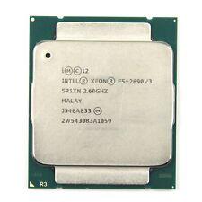 Intel Xeon E5-2690 v3 2.6GHz 30MB 9.6GT/s SR1XN LGA2011-v3 B Grade CPU processor