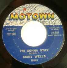 Mary Wells - I'm Gonna Stay / The One Who Really Loves You 45 Motown soul