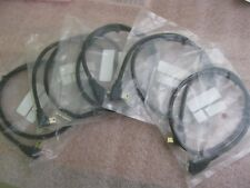 """RR-2MBL01-EXT-24GL5 USB MINI-B RIGHT ANGLED EXTENSION CABLE-24""""-LOT OF (5)"""