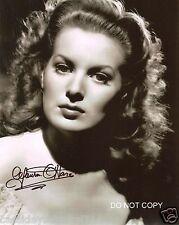 "Maureen O'Hara Actress 8x10"" Reprint Signed Photo RP John Wayne The Black Swan"