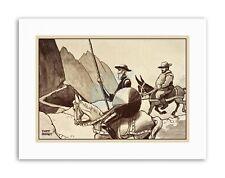 MARRIOTT DON QUIXOTE SANCHO PANZA WALL Canvas art Prints