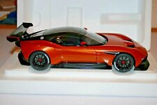 Autoart ASTON MARTIN VULCAN MADAGASCAR ORANGE 1/18 Scale In Stock