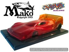"Speedville Slot Car body - Mako - LMP 1/24   4"" wheelbase"