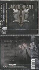 Jaded Heart-Common Destiny +1, Giappone CD + OBI (2012) Crystal Ball, Shakra, Mad Max