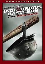 Inglourious Basterds (DVD, 2-Disc Set, Special Edition, Brad Pitt) LIKE NEW