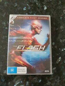 The Flash : Season 1 DVD (5-Disc Set) PRE-OWNED!!