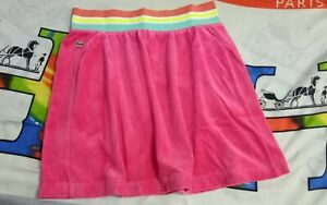 BNEW LACOSTE TERRY SKIRT IN PINK